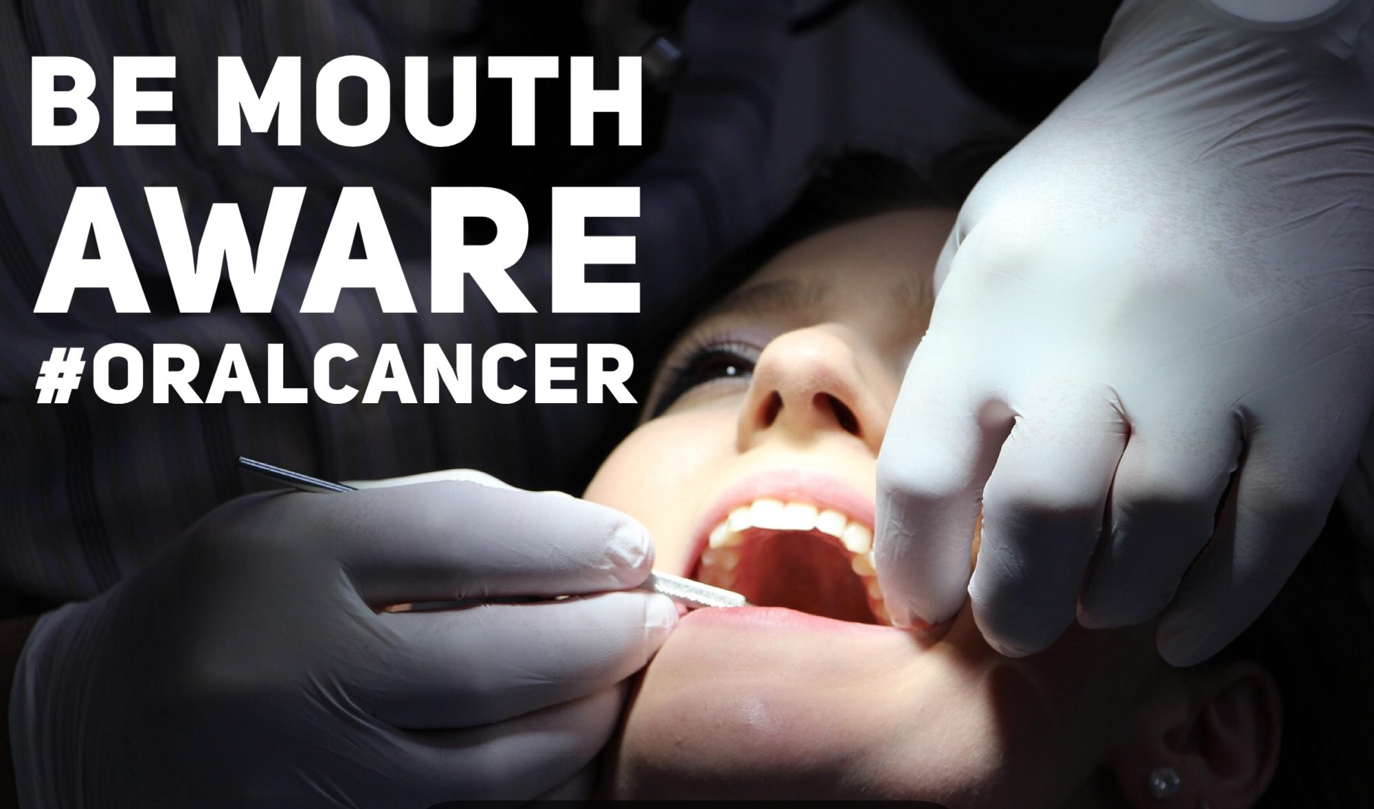 Check your mouth for oral cancer