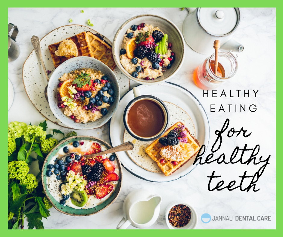 healthy diet with Jannali Dental care